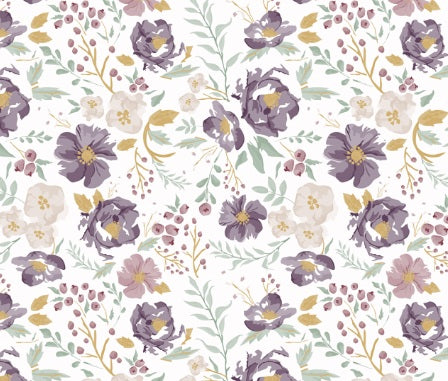 Custom Fabric - Autumn Floral