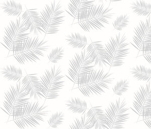 Custom Fabric - Grey Palms