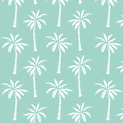 Custom Fabric - Mint Summer