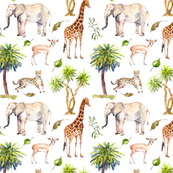 Custom Fabric - Safari