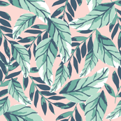 Custom Fabric - Tropical Foilage