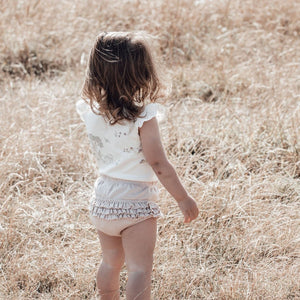 Rose Dust Ruffle Bloomers