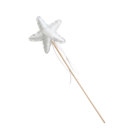 Amelie Star Wand - Silver