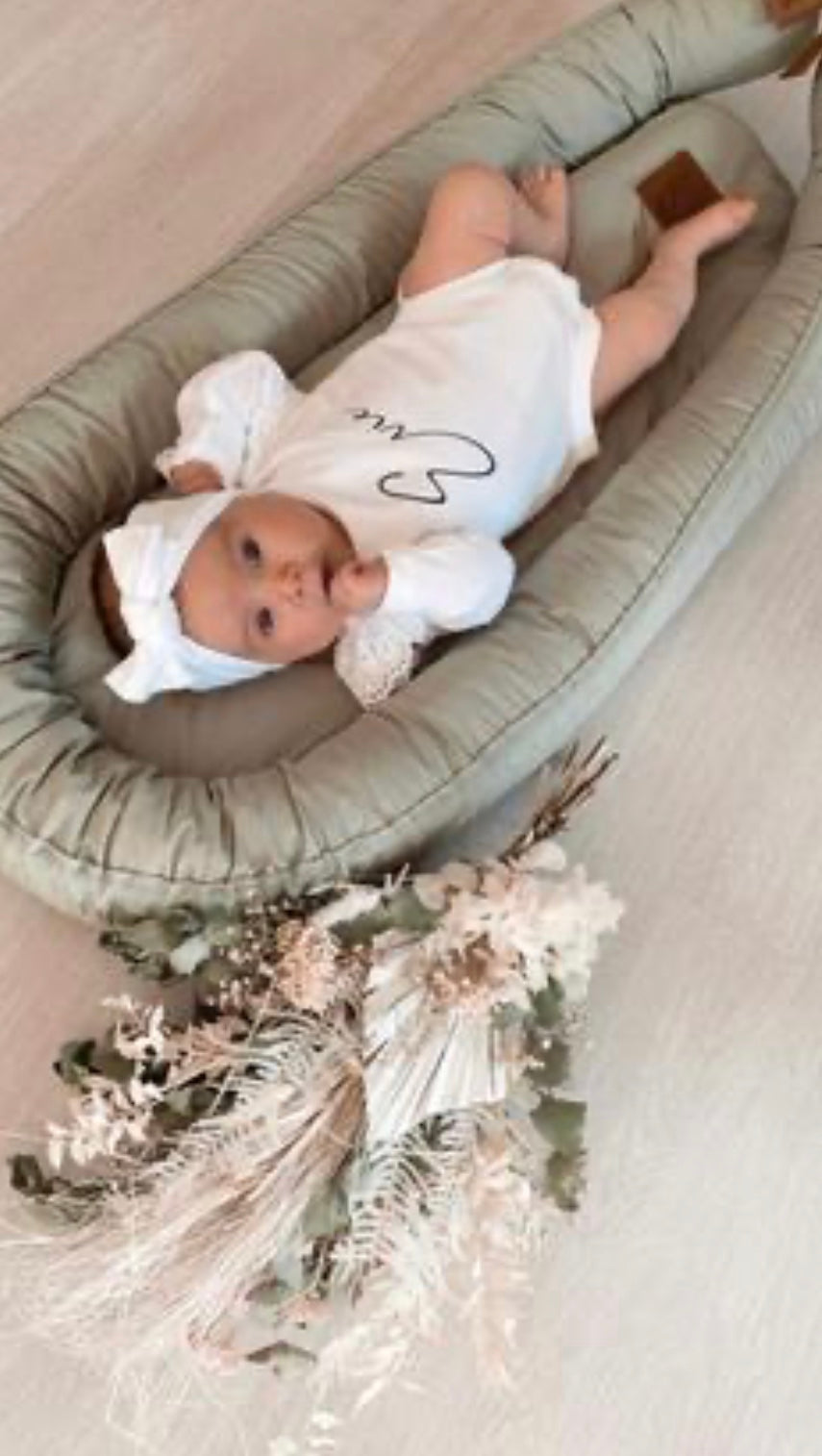 Baby Nest - Sage (1 WEEK TURNAROUND)
