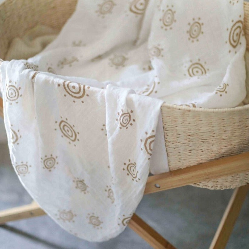 Bamboo Muslin - A Little Bit of Sunshine
