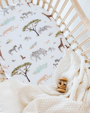 Jersey Nursery Linen - Safari