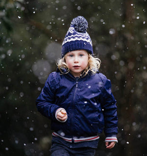Beanie - Boy - Dylan Navy (2+ years)