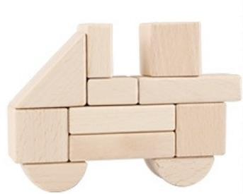 Beechwood Block Set - 100 Blocks