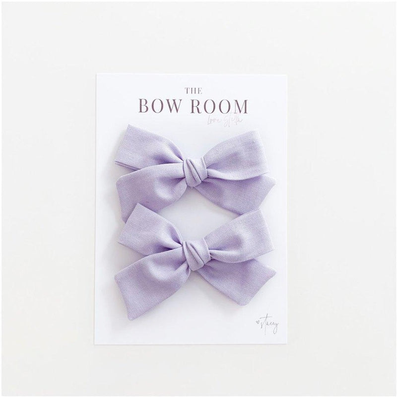 Madison Piggy Tail Set - Lilac Sienna
