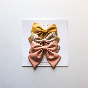 Stella Headband Bow Set - Millie