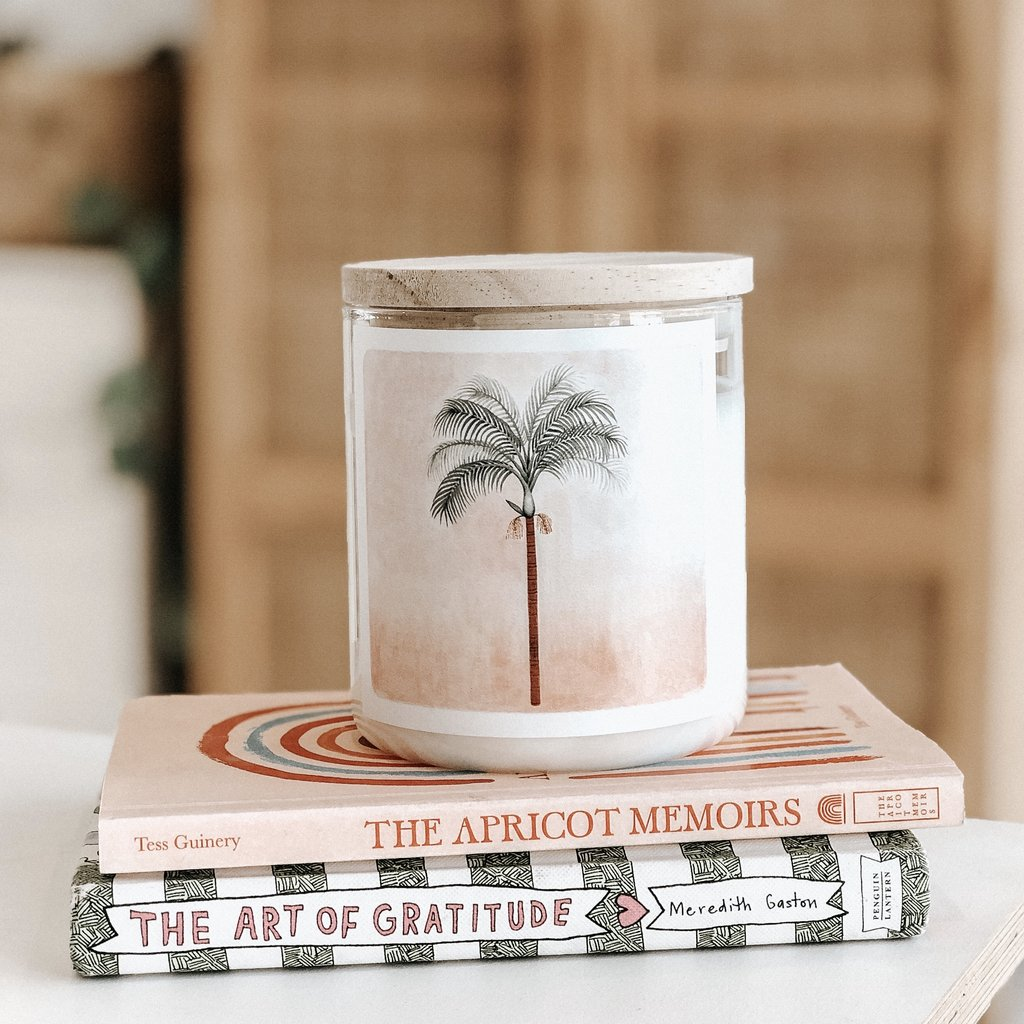 'The Palm' Featuring Karina Jambrak Candle