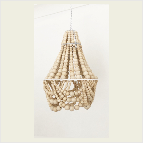 Beaded Petite Chandelier Light (2 WEEK TURNAROUND)