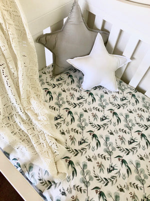 Nursery Linen - Eucalyptus Leaves
