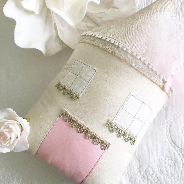 The Little Cottage Pillow - The Boho Cottage (4 WEEKS TURNAROUND TIME)