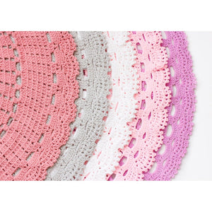 Crochet Rug 120cm - Everly
