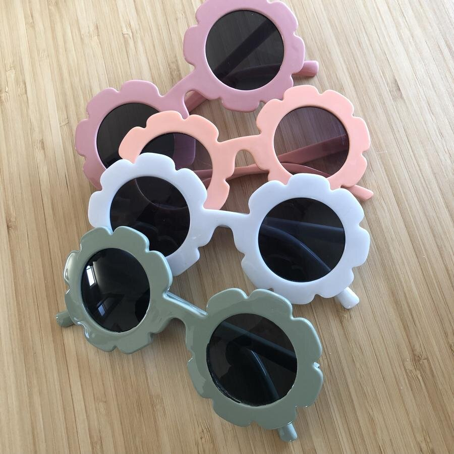 Daisy Sunglasses UV 400 - Blush Pink