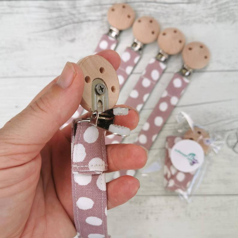 Dummy Clip Fabric - Blush Spots
