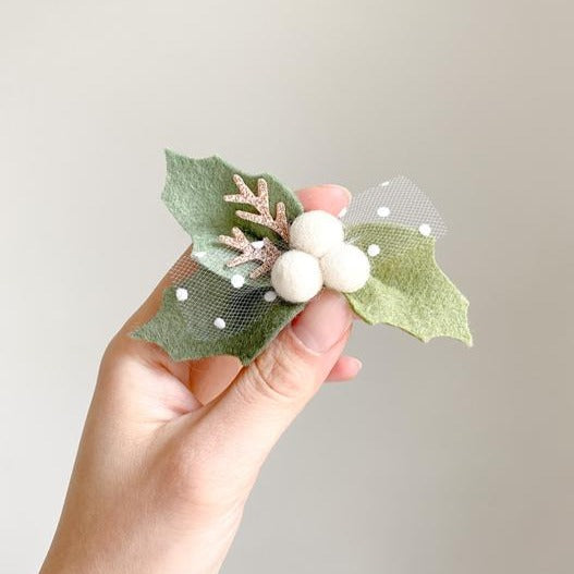 Christmas 2020 - Berries Headband - White