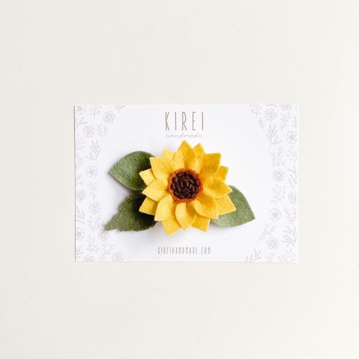 Felt Sunflower Headband