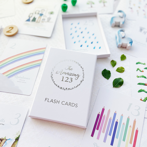 Flash Cards - The Amazing 123