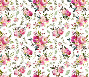 Custom Fabric - Floral Blooms