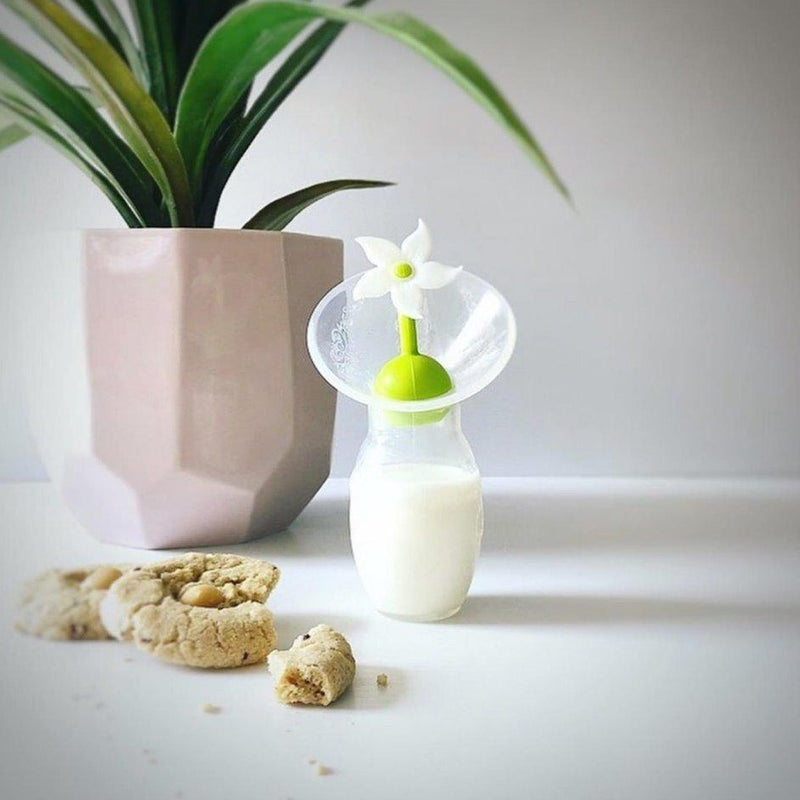 Haakaa - Silicone Breast Pump with Flower Stopper