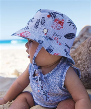 Hat - Baby Boy - Kai Blue (0-2 years)