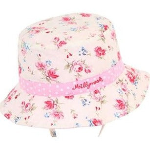 Hat - Baby Girl - Vintage Floral (0-2 years)