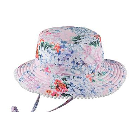 Hat - Baby Girl - Coco Floral Swim Hat (0-2 years)