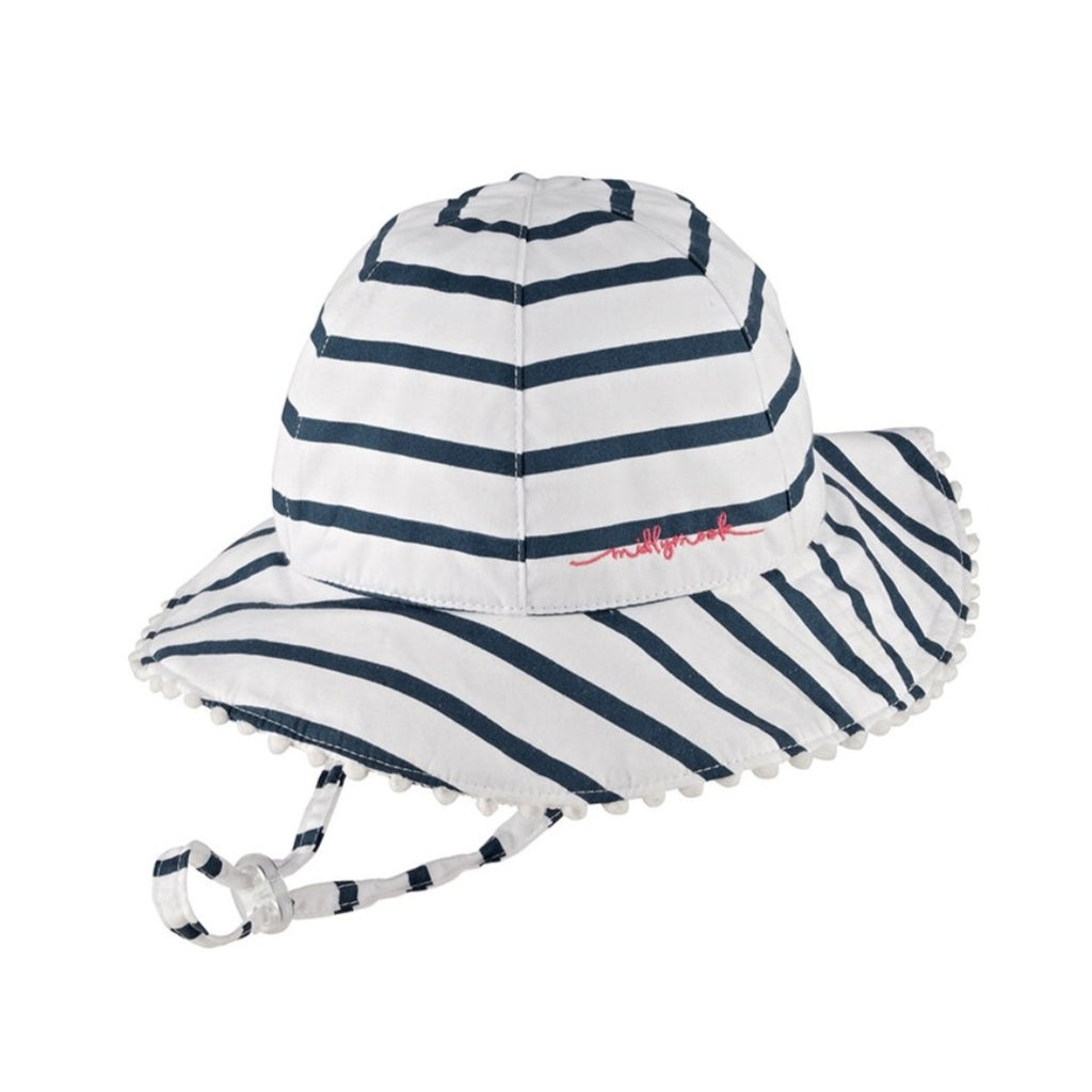 Hat - Baby Girl - Skipper Navy/White (0-2 years)