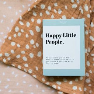 Happy Little People Card Deck - The First Year