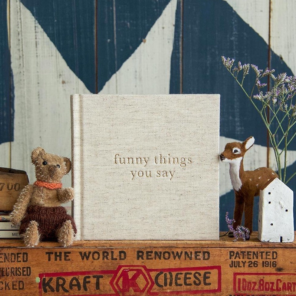 Journal - Funny Things You Say