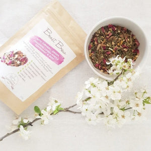 Lactation Tea - Tumeric, Ginger, Cinnamon, Lemon Myrtle, Peppermint & Rose 50g