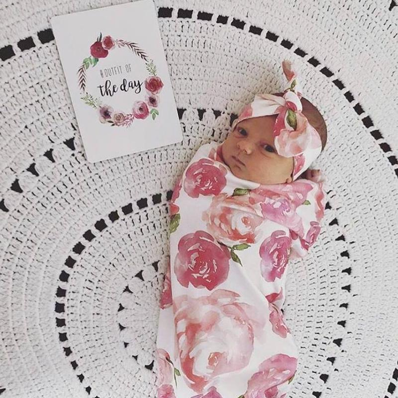 Baby Milestone Cards - Boho Floral