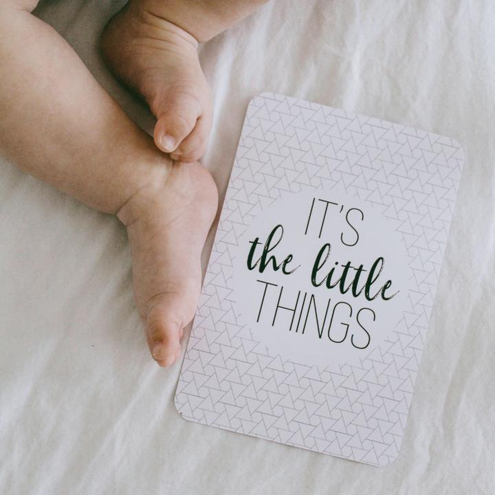 Baby Milestone Cards - Oh Baby