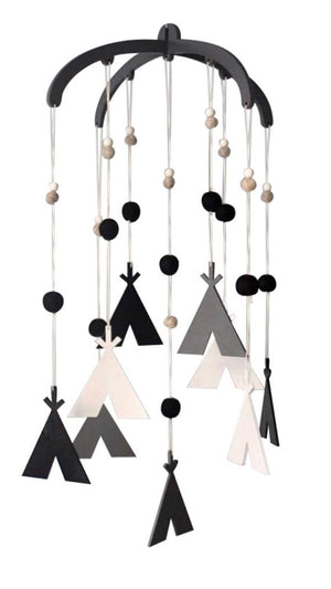 Mobile - Monochrome Teepee