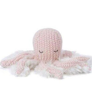 Ollie Octopus Rattle - Pink