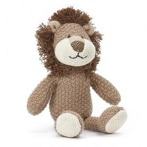 Hunter the Lion Baby Rattle