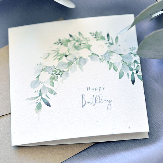 Plantable Gift Card - Eliza Happy Birthday