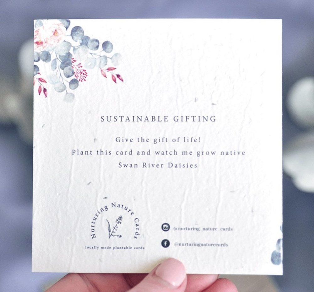 Plantable Gift Card - Oh Deer
