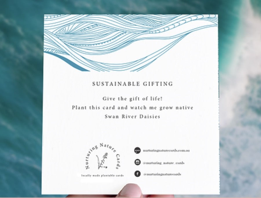 Plantable Gift Card - Waves