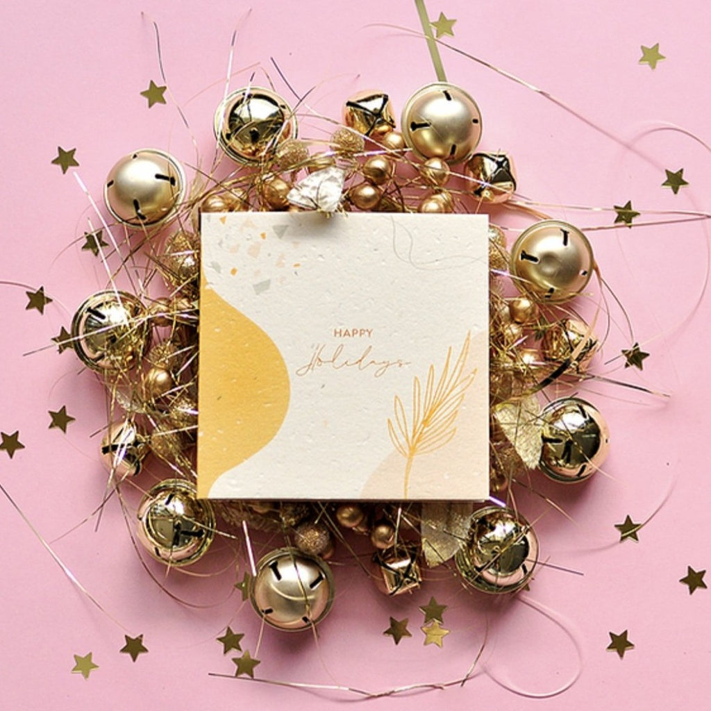 Christmas Plantable Gift Card - Happy Holidays