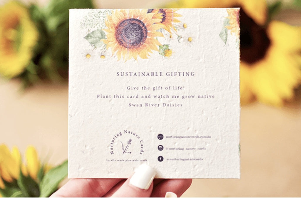 Plantable Gift Card - Sunflowers