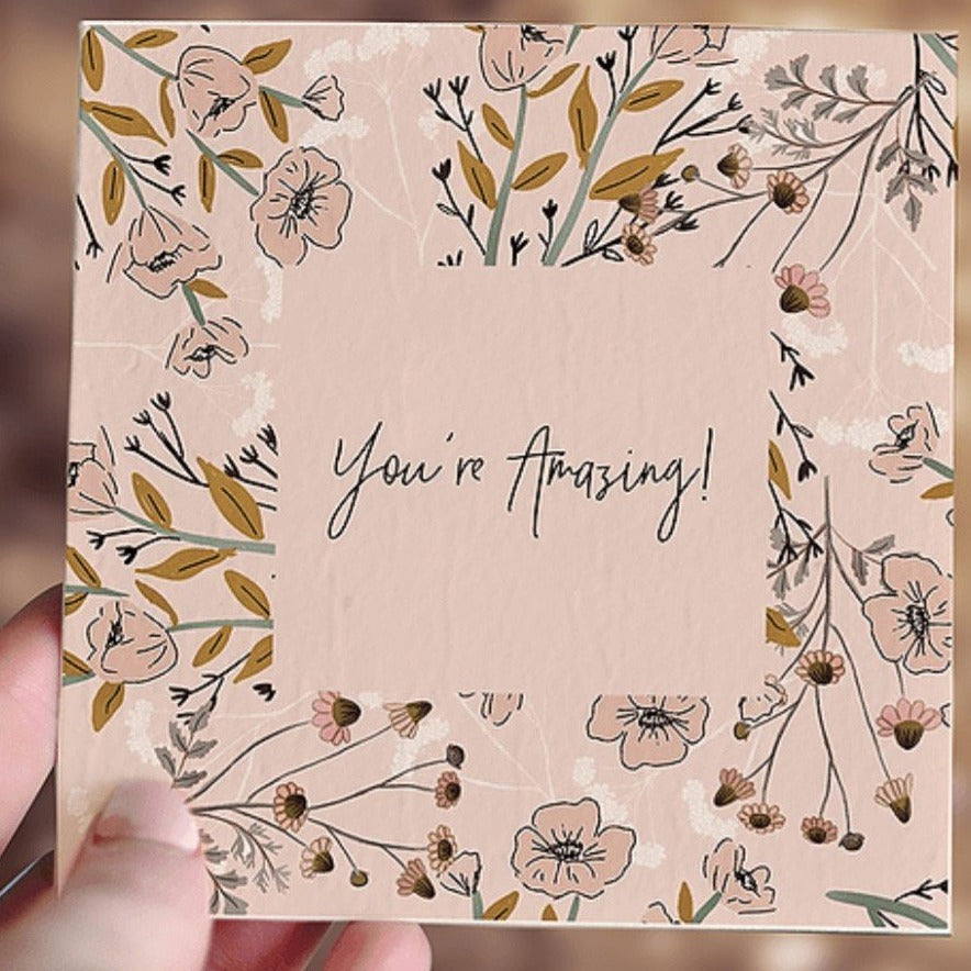 Plantable Gift Card - You're Amazing