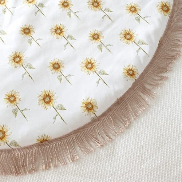 Playmat Round Large - Sunflower (IN STOCK)