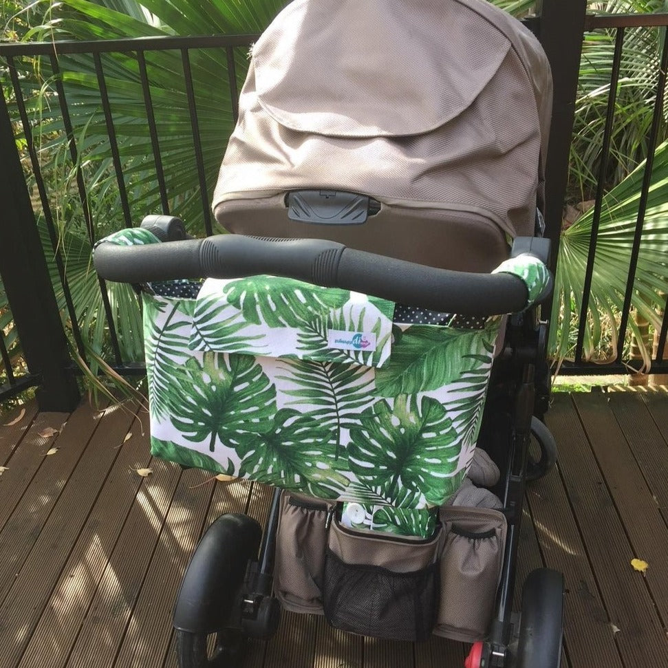 Pram Caddy Deluxe - Palmetto