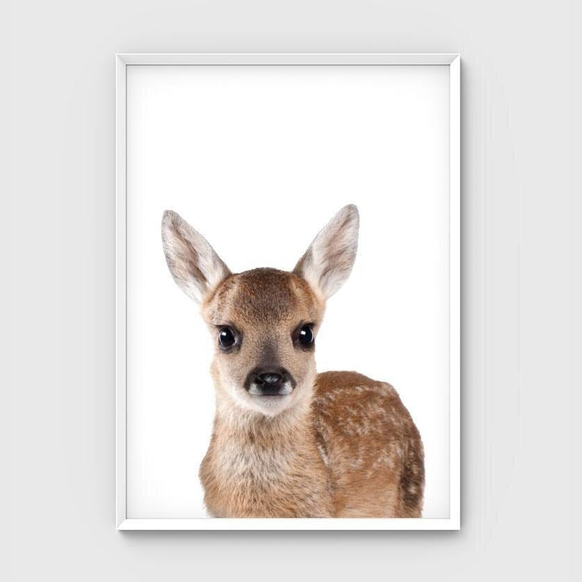 Print - Deer Friend