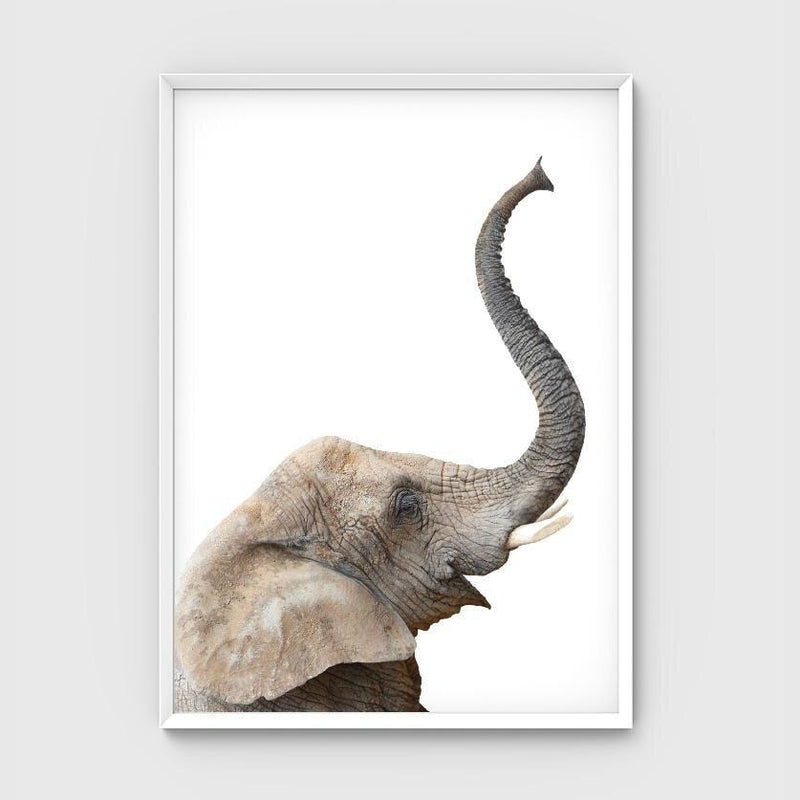 Print -  Elephant Friend