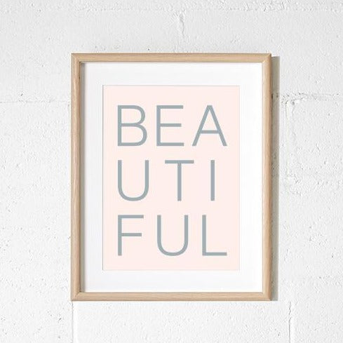 A3 Print - Beautiful Blush