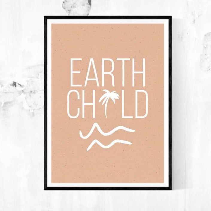A4 Print - Blush Earth Child